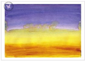 Art Greeting Card - Horizon Dreams